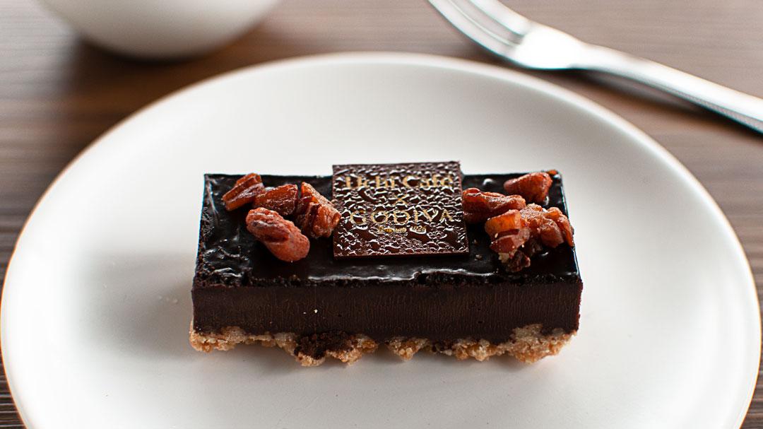 ゴディバ・ローソンのショコラケーキ
